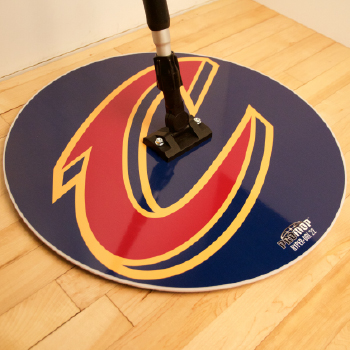 Cleveland Cavaliers round basketball mops NBA finals