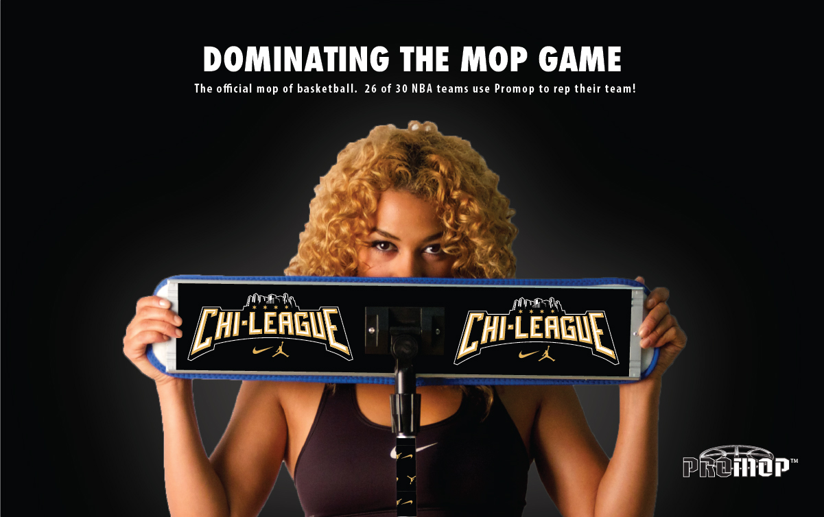 DOMINATING THE MOP GAME - BASKETBALL MOPS CUSTOMIZED FOR YOUR TEAM!