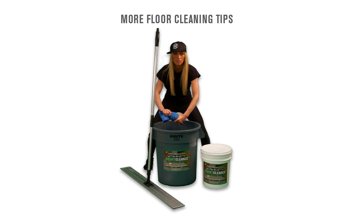 MORE BASKETBALL COURT FLOOR CLEANING TIPS