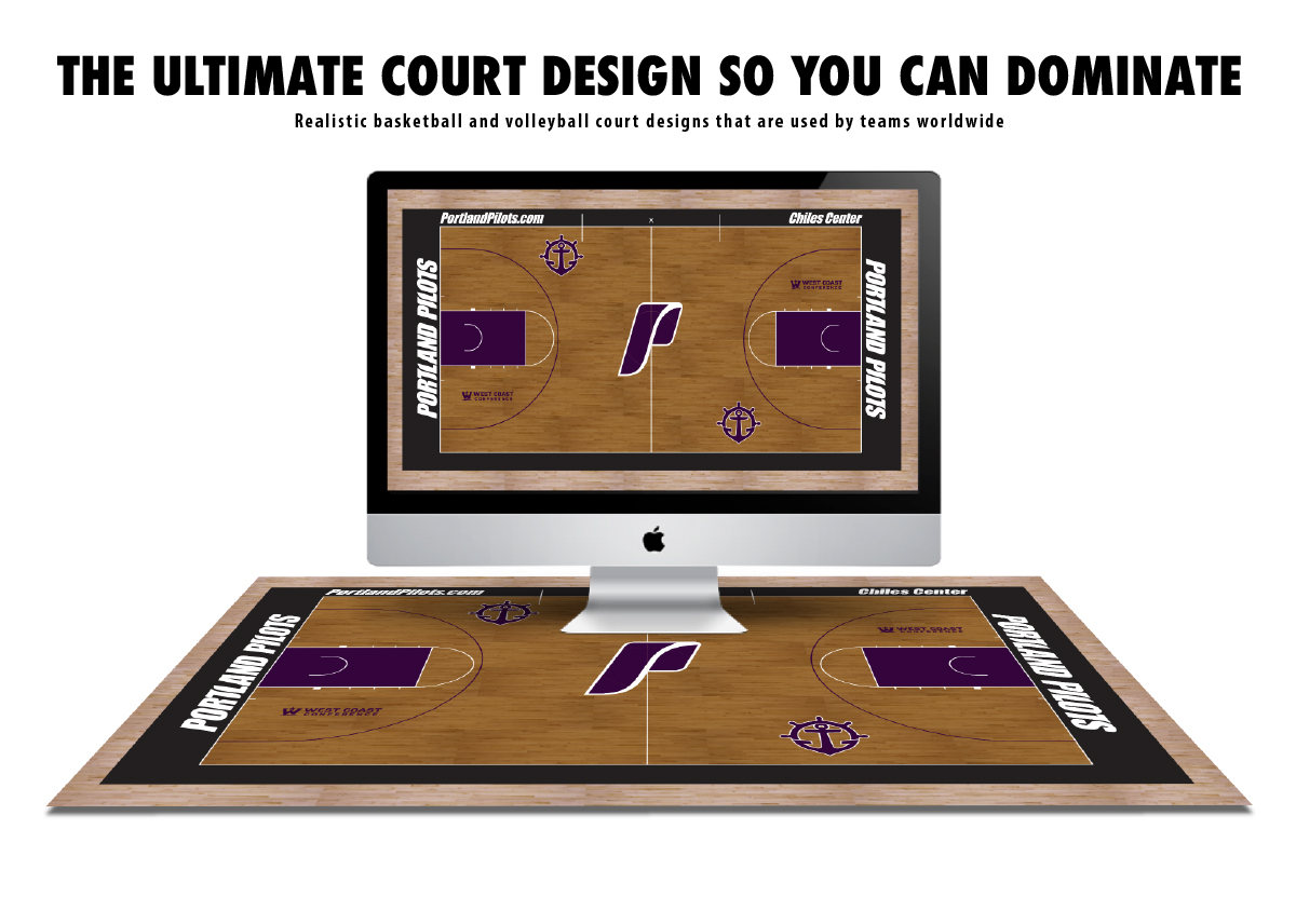 Courtsports Design Basketball Court Floor Design