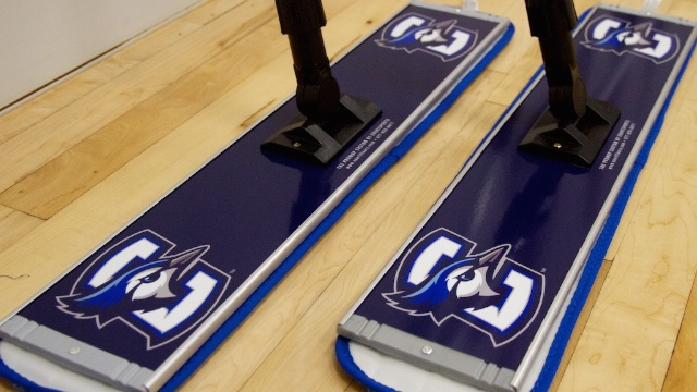 creighton basketball floor mop