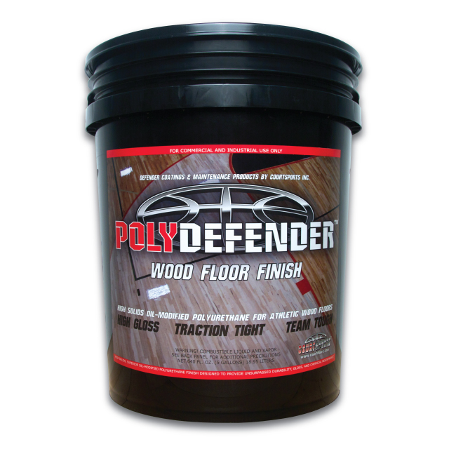 Polydefender Finish 5 Gal Courtsports Store