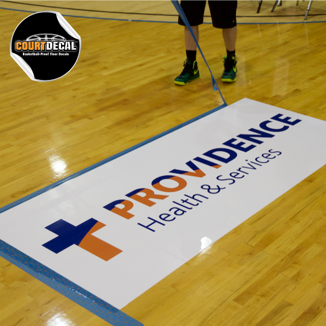 Courtdecal Basketball Proof Floor Decal Kit