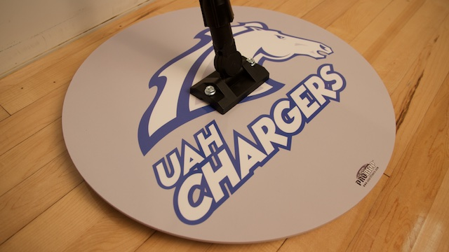 uah chargers basketball floor mops