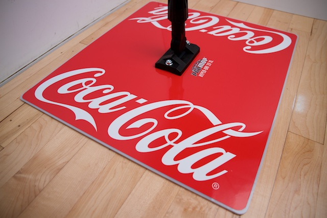 COKE - PROMOP HYPER-DRI 20XL CUSTOMIZED BASKETBALL/VOLLEYBALL MOP - WITH CUSTOM LOGO AND TEAM COLORS