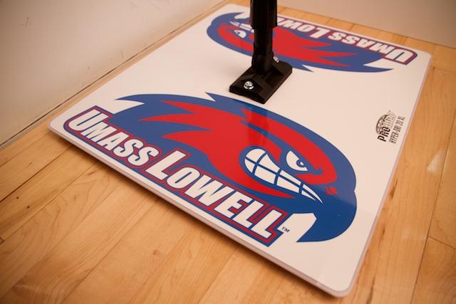 UMASS - PROMOP HYPER-DRI 20XL CUSTOMIZED BASKETBALL/VOLLEYBALL MOP - WITH CUSTOM LOGO AND TEAM COLORS