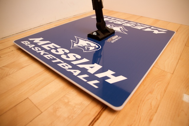PROMOP HYPER-DRI 20XL SQUARE BASKETBALL / VOLLEYBALL SWEAT MOP - CUSTOMIZED WITH YOUR TEAM LOGO AND COLORS