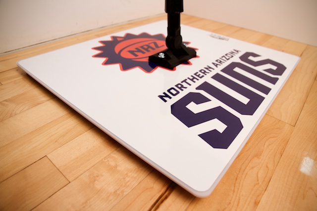 PROMOP HYPER-DRI 20XL SQUARE BASKETBALL / VOLLEYBALL SWEAT MOP - BRANDED WITH YOUR LOGO AND TEAM COLORS