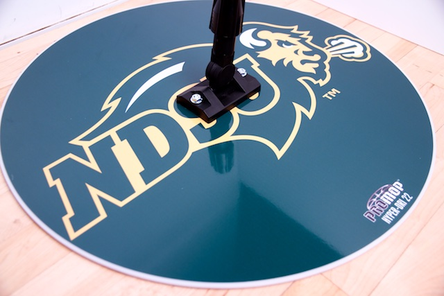NDSU - HYPER-DRI 22 ROUND BASKETBALL/VOLLEYBALL SWEAT MOP