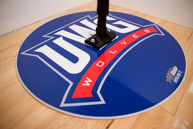 UWG - HYPER-DRI 22 ROUND BASKETBALL/VOLLEYBALL SWEAT MOP