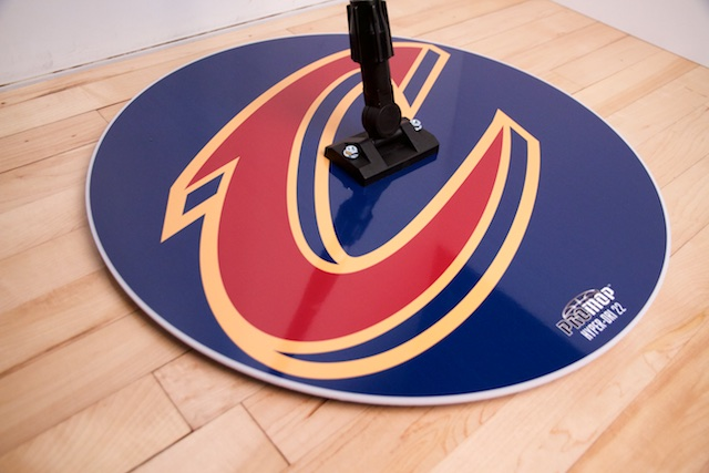 CLEVELAND CAVALIERS - HYPER-DRI 22 ROUND BASKETBALL/VOLLEYBALL SWEAT MOP