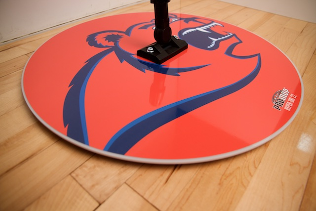 PROMOP HYPER-DRI 22 ROUND BASKETBALL / VOLLEYBALL SWEAT MOP - CUSTOM LOGO AND TEAM COLORS