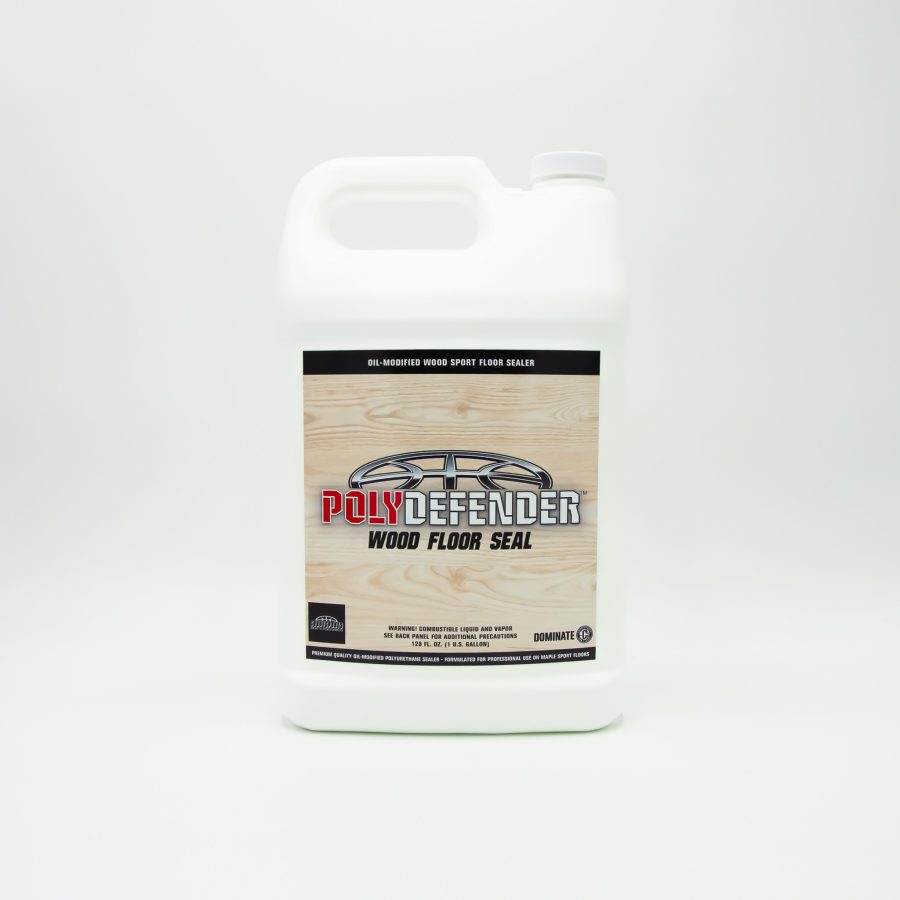 POLYDEFENDER WOOD FLOOR SEAL - OIL-MODIFIED POLYURETHANE FLOOR FINISH FORMULATED FOR MAPLE SPORT FLOORS