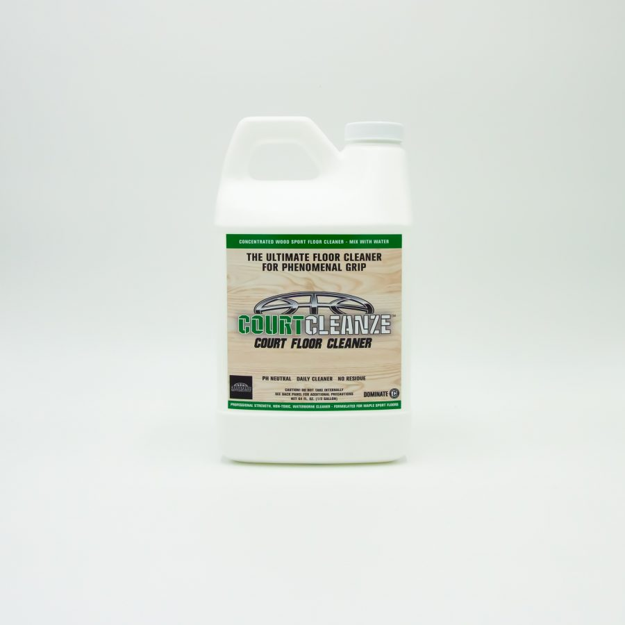 COURTCLEANZE WOOD FLOOR CLEANER CONCENTRATE FOR SPORTS FLOOR CLEANING