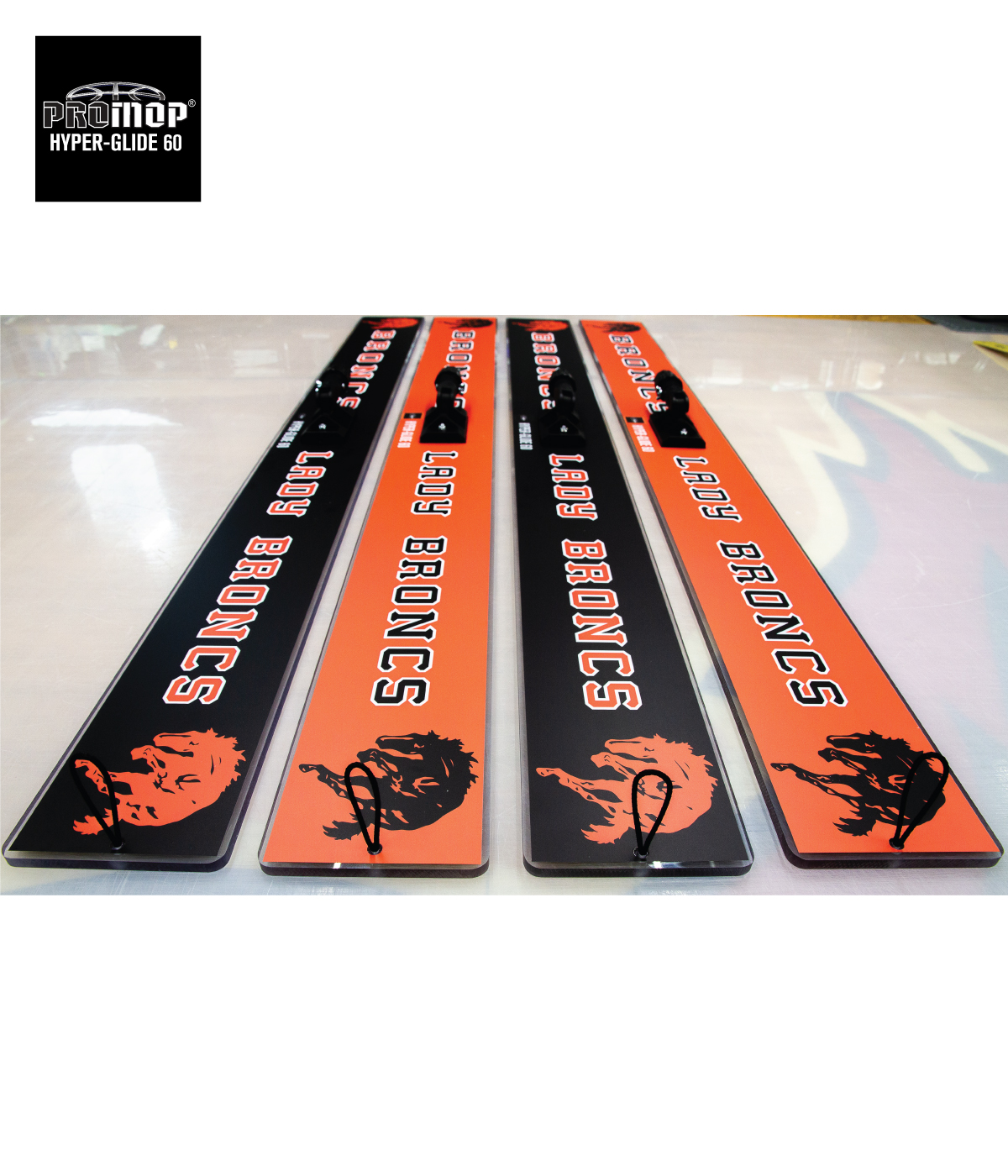 PROMOP HYPER-GLIDE 60 BASKETBALL / VOLLEYBALL HEAVY-WEIGHT GYM FLOOR CLEANING MOP